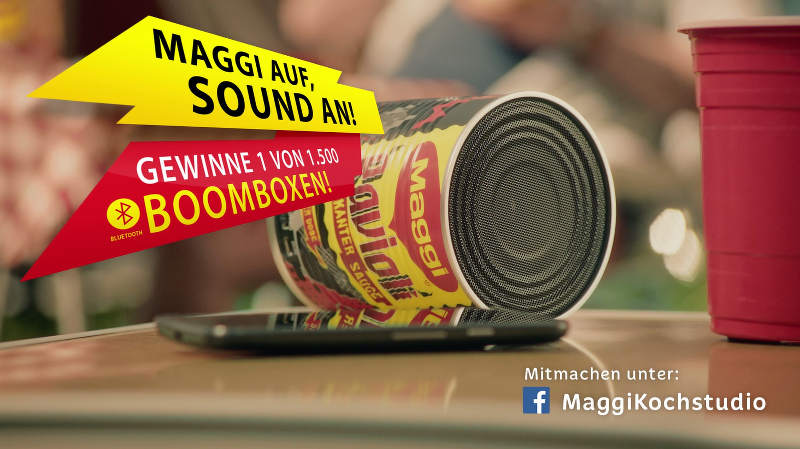 Maggi Boombox Gewinnspiel