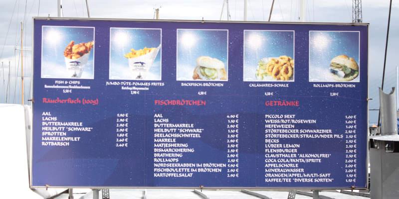Fischbrötchen Stralsund