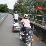 Fahrradtouren planen und sicher auf Radwegen